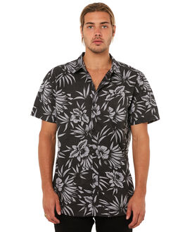 BLACK OUTLET MENS SWELL SHIRTS - S5183166BLACK