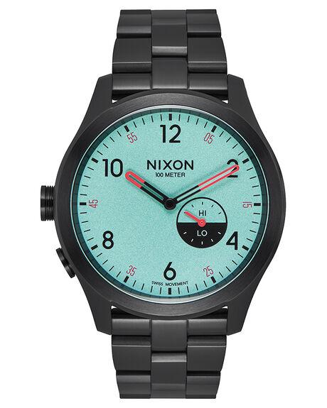 ALL BLACK BLUE MENS ACCESSORIES NIXON WATCHES - A1168602