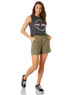 JUNGLE ARMY OUTLET WOMENS THRILLS SHORTS - WTH9-301FARMY