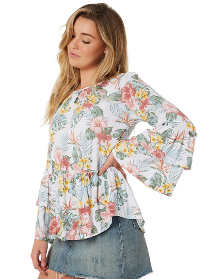 FLORAL OUTLET WOMENS SWELL FASHION TOPS - S8184168FLORL
