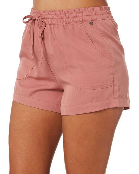 ASH PINK WOMENS CLOTHING RUSTY SHORTS - WKL0693APK
