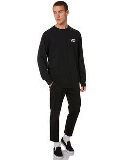 BLACK MENS CLOTHING VANS JUMPERS - VNA371NBLKBLK