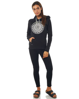 BLACK WOMENS CLOTHING HURLEY JUMPERS - AGFLMDLA00A