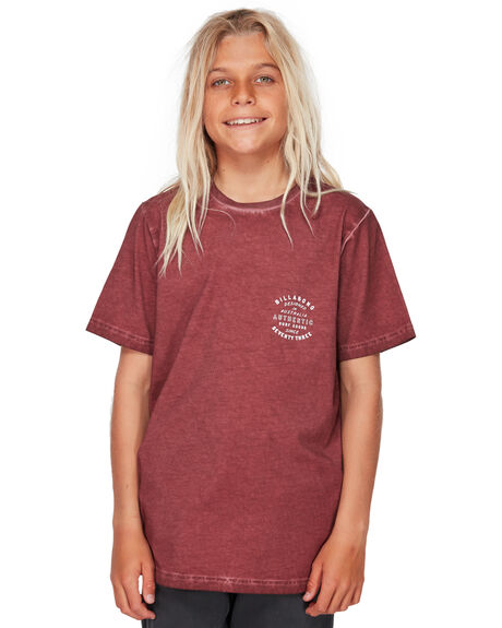 ROSE DUST KIDS BOYS BILLABONG TOPS - BB-8591007-RDU