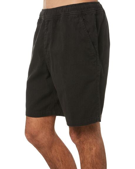 BLACK MENS CLOTHING NO NEWS SHORTS - N5174234BLACK