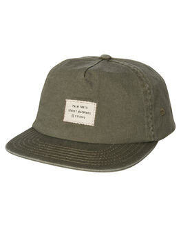DUSTY OLIVE MENS ACCESSORIES THRILLS HEADWEAR - TA9-506FDOLV