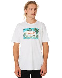 WHITE MENS CLOTHING HURLEY TEES - CI0355100