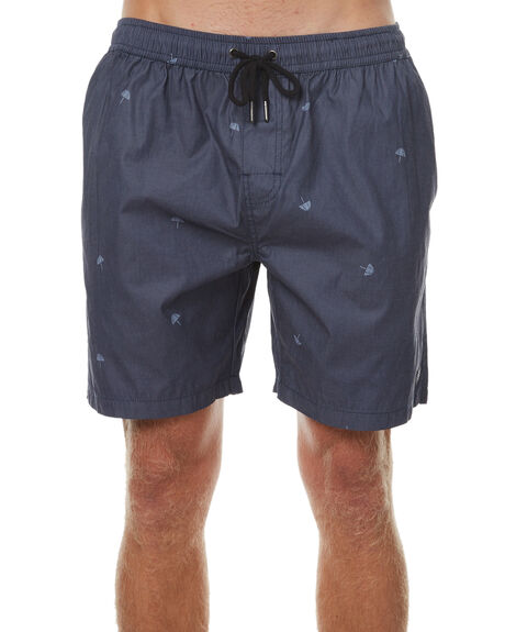 NAVY MENS CLOTHING SWELL BOARDSHORTS - S5174246NVY