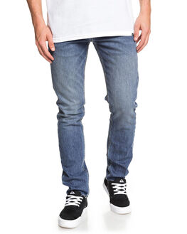 AGED MENS CLOTHING QUIKSILVER JEANS - EQYDP03403-BJQW
