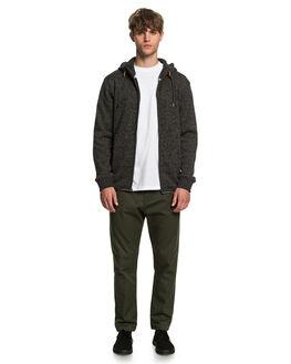 DARK GREY HEATHER MENS CLOTHING QUIKSILVER JUMPERS - EQYFT04134-KRPH