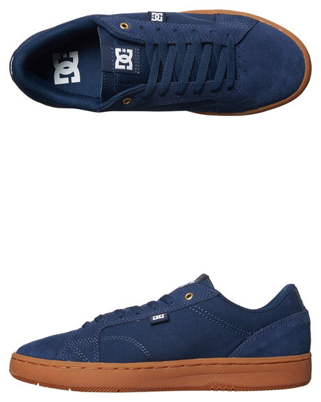 NAVY GUM MENS FOOTWEAR DC SHOES SNEAKERS - ADYS100358NGM