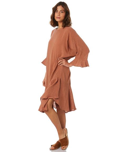 RUST WOMENS CLOTHING ZULU AND ZEPHYR DRESSES - ZZ2281RUST