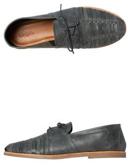 BLACK MENS FOOTWEAR URGE FASHION SHOES - URG17042BLK
