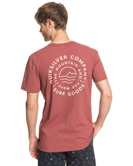 APPLE BUTTER MENS CLOTHING QUIKSILVER TEES - EQYZT05819-CPH0