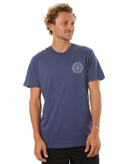 BLUE MENS CLOTHING VOLCOM TEES - A5041773BLU