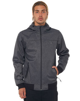BLACK MENS CLOTHING QUIKSILVER JACKETS - EQYJK03382KVJ0