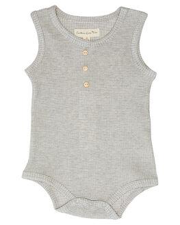 ASH GREY KIDS BABY CHILDREN OF THE TRIBE CLOTHING - BBON0406ASHGR