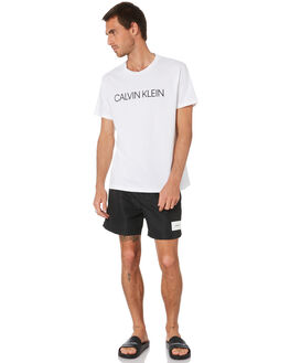 BLACK MENS CLOTHING CALVIN KLEIN BOARDSHORTS - KM00296-BEH