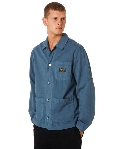STEELE MENS CLOTHING STUSSY JACKETS - ST091502STELE