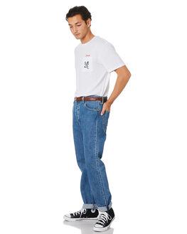 WHITE MENS CLOTHING BRIXTON TEES - 16184WHT
