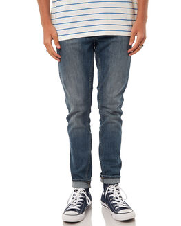 90S MID BLUE MENS CLOTHING DR DENIM JEANS - 1330125G24