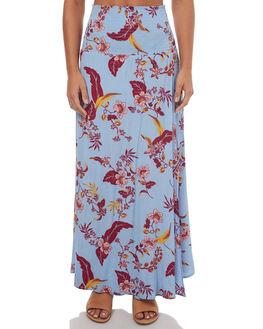BLUE KAUAI WOMENS CLOTHING SWELL SKIRTS - S8171472BLUKA