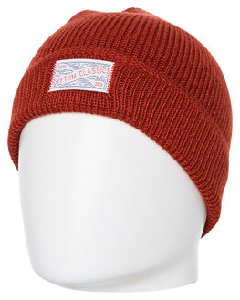 CLASSIC RED MENS ACCESSORIES RHYTHM HEADWEAR - ACC00M-BN01-RED