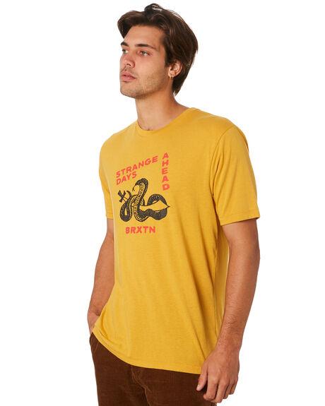 MAIZE MENS CLOTHING BRIXTON TEES - 16071MAIZE