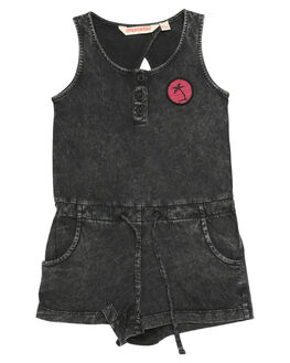 ACID BLACK KIDS TODDLER GIRLS MUNSTER KIDS PLAYSUITS + OVERALLS - MM172JS02ACDBK