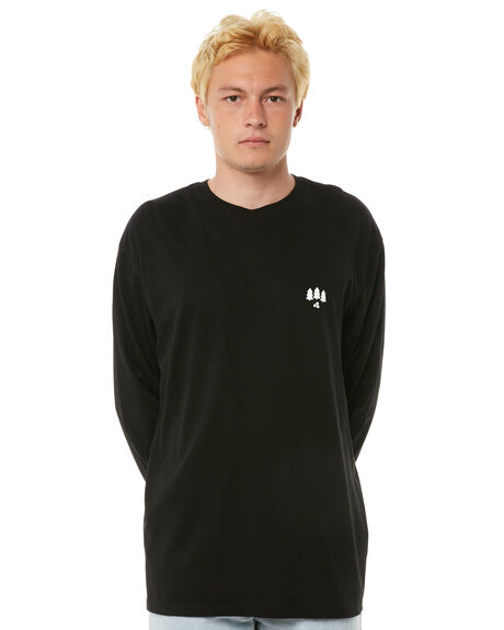 BLACK OUTLET MENS HUFFER TEES - MLS81S660-583BLK