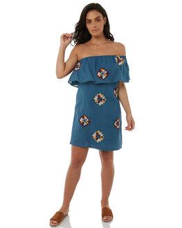 BLUESTONE WOMENS CLOTHING TIGERLILY DRESSES - T385419BLUS