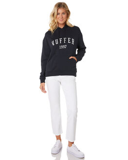 INDIGO WOMENS CLOTHING HUFFER JUMPERS - WHD91S531-342IND