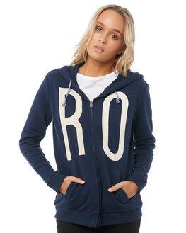 DRESS BLUES WOMENS CLOTHING ROXY JUMPERS - ERJFT03723BTK0