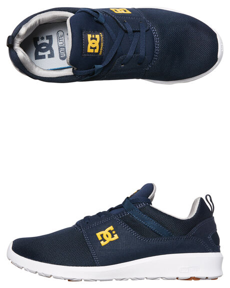 NAVY GOLD MENS FOOTWEAR DC SHOES SNEAKERS - ADYS700071NGL