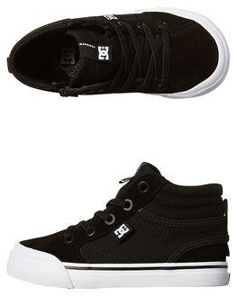 BLACK KIDS TODDLER BOYS DC SHOES FOOTWEAR - ADTS300023BL0