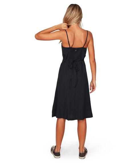 OFF BLACK WOMENS CLOTHING BILLABONG DRESSES - BB-6592484-OFB