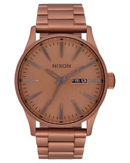 COPPER GUNMETAL MENS ACCESSORIES NIXON WATCHES - A356-3165