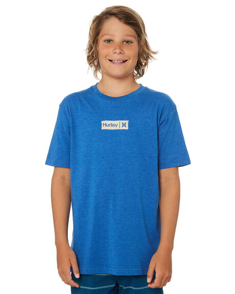 HEATHER ULTRAMARINE KIDS BOYS HURLEY TOPS - ABTSBBPTHUM