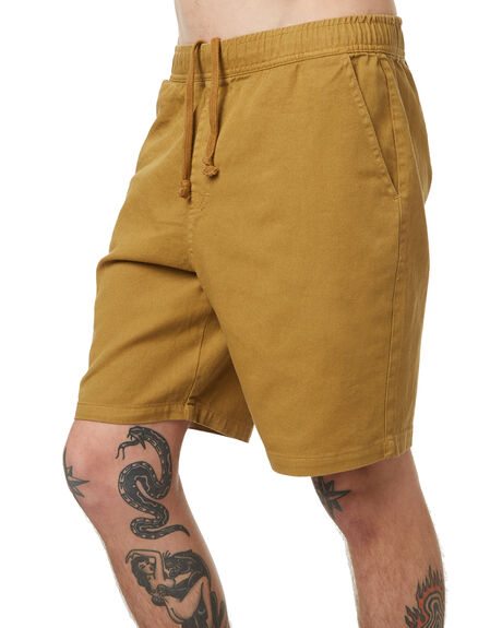 HONEY MUSTARD OUTLET MENS NO NEWS SHORTS - N5174234HMUST