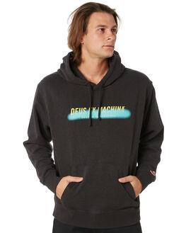 PHANTOM BLACK MENS CLOTHING DEUS EX MACHINA JUMPERS - DMP98170PHBLK