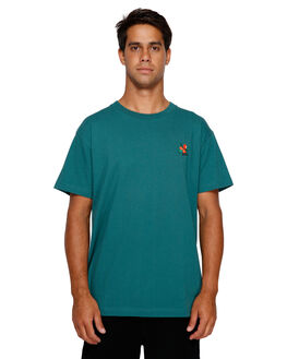 ALPINE MENS CLOTHING RVCA TEES - RV-R191061-ALP