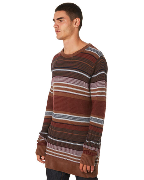 CLAY MENS CLOTHING BANKS KNITS + CARDIGANS - WKN0051CLY