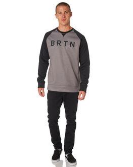 HEATHER TRUE BLACK MENS CLOTHING BURTON JUMPERS - 16465104022HTBLK