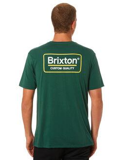 EVERGREEN MENS CLOTHING BRIXTON TEES - 06528EVERG