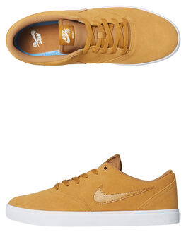 WHEAT WHITE MENS FOOTWEAR NIKE SKATE SHOES - 843895-770
