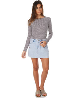 REALITY BLUE WOMENS CLOTHING LEE SKIRTS - L-655890-BG6REA