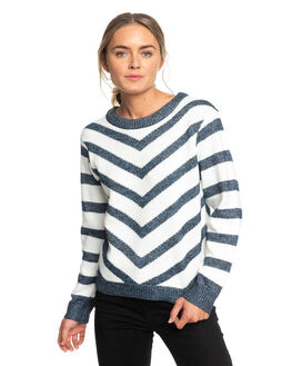 MARSHMALLOW WOMENS CLOTHING ROXY KNITS + CARDIGANS - ERJSW03335-WBT0
