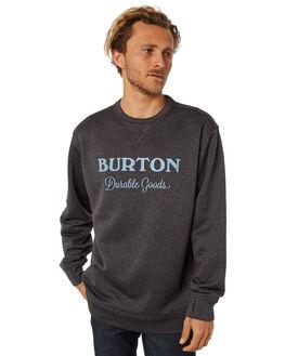 TRUE BLACK HEATHER MENS CLOTHING BURTON JUMPERS - 173531001