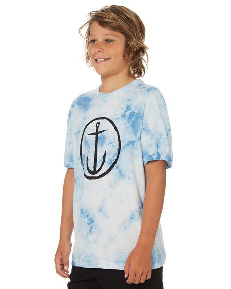 BLUE KIDS BOYS CAPTAIN FIN CO. TOPS - BT184001BLU