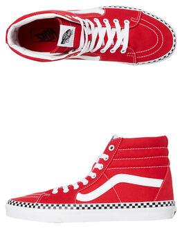 RED MENS FOOTWEAR VANS SNEAKERS - SSVNA38GECS5M